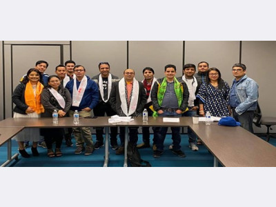 Nebraska Nepalese Society Team (2020 -2022) Board Formation