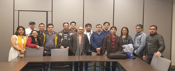 Nebraska Nepalese Society Team (2020 -2022) Board Formed