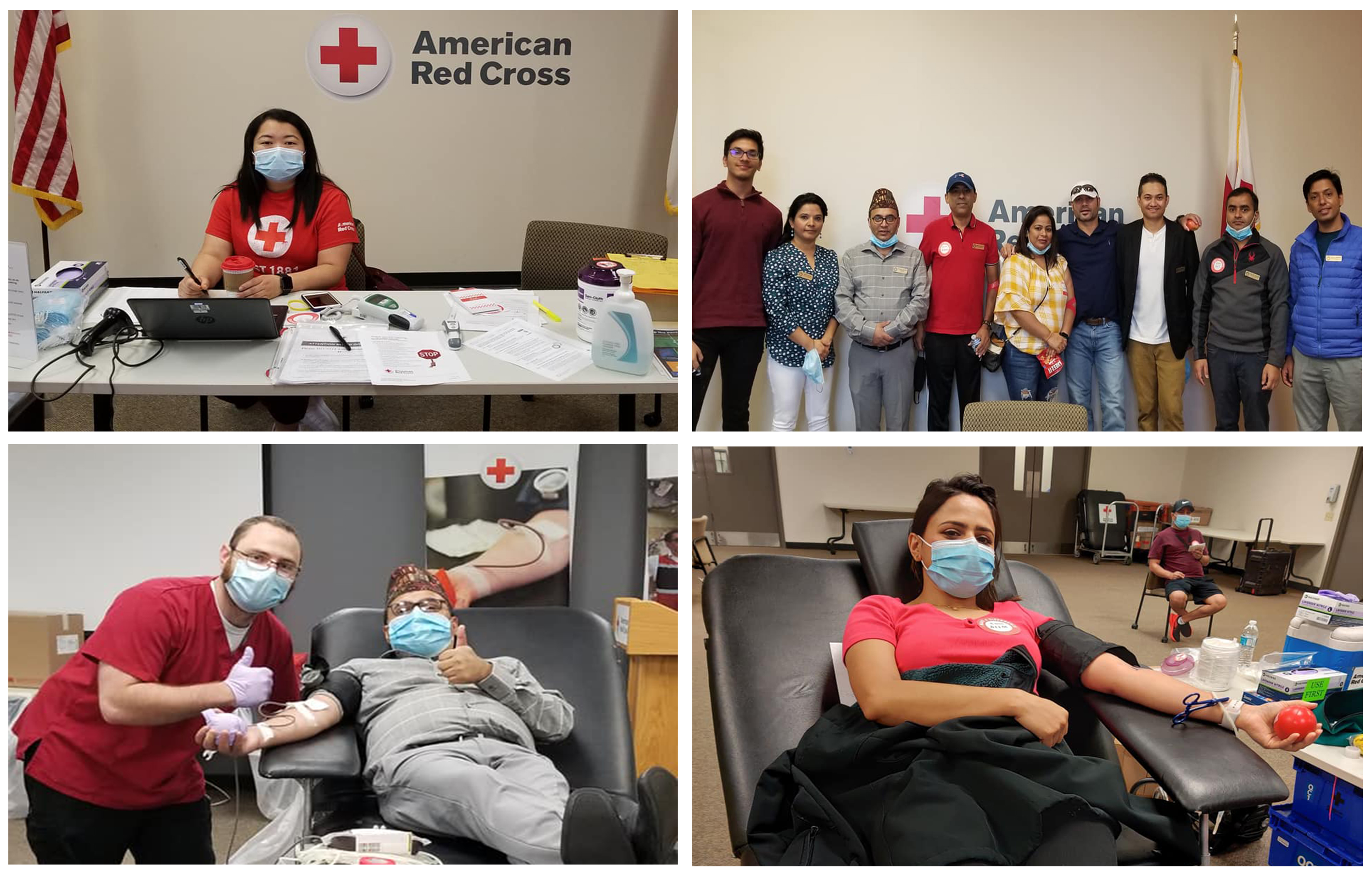 Historic Blood Drive - 2020 Held