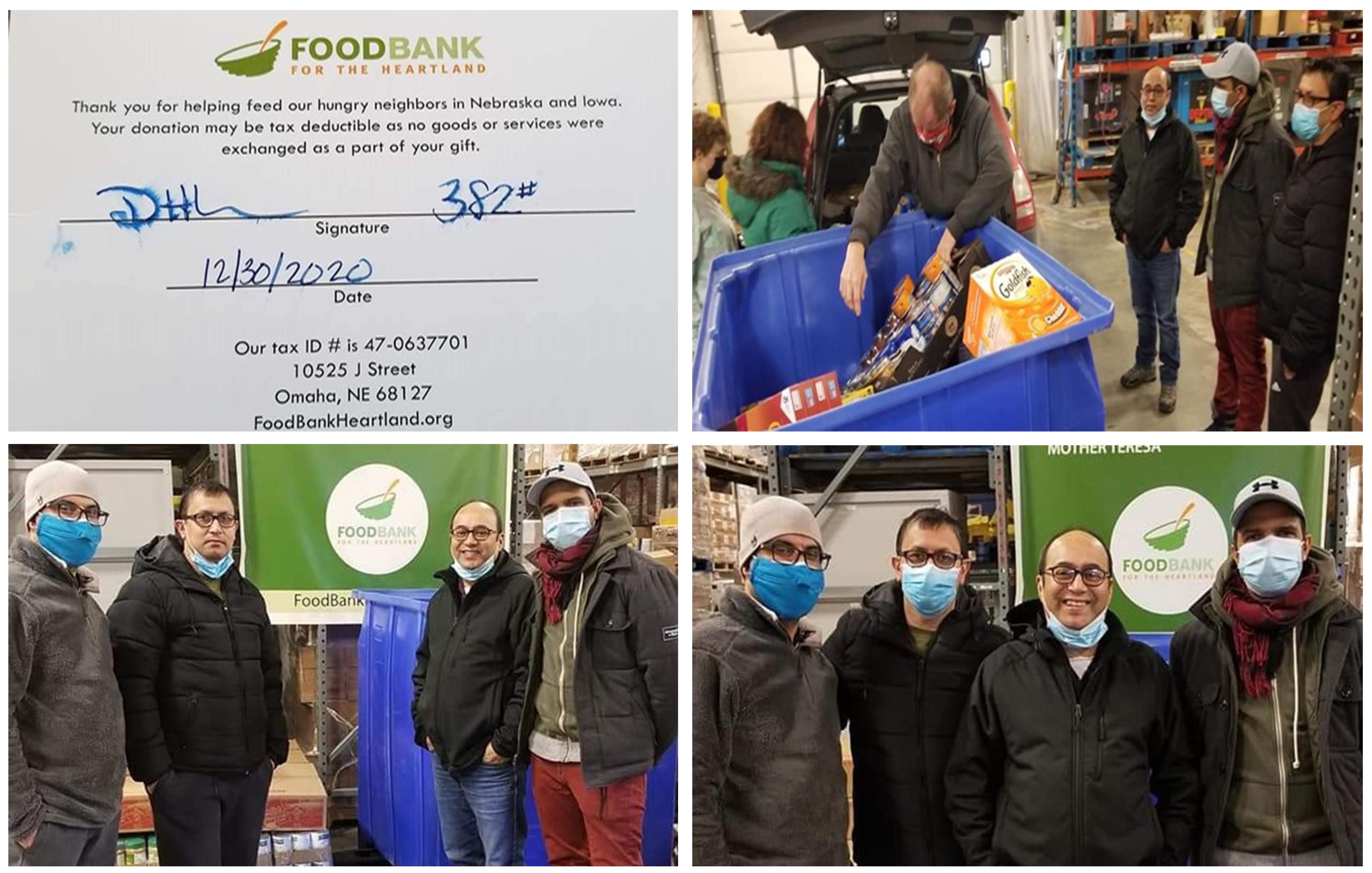 Nebraska Nepalese Society Partners with Foodbank for the Heartland